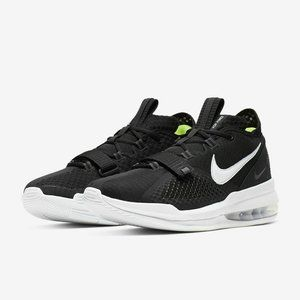 Nike Air Force Max Low Black Basketball Shoes